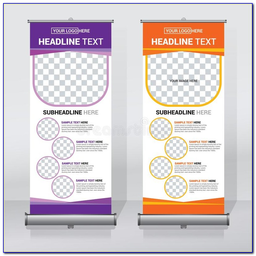 Pull Up Banner Template Publisher