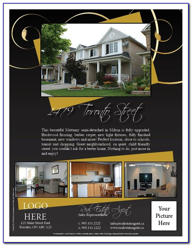 Real Estate Flyer Templates Free Download