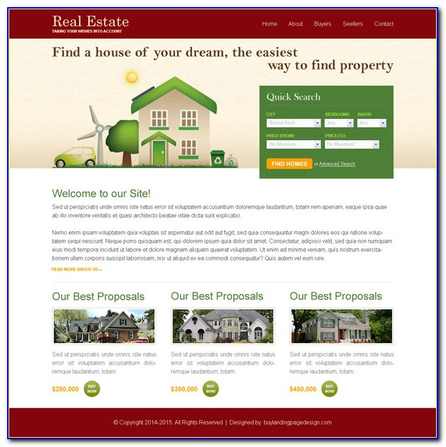 Real Estate Responsive Website Templates Free Download Html With Css