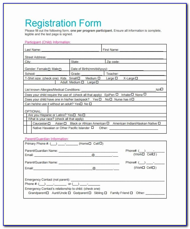 Free Templates Registration Form Template In Html Free Download