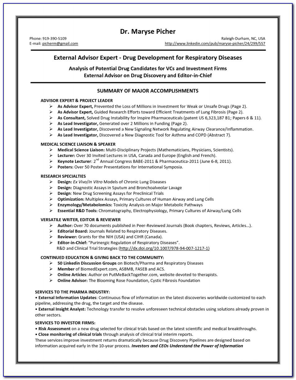 Respiratory Therapist Resume Example