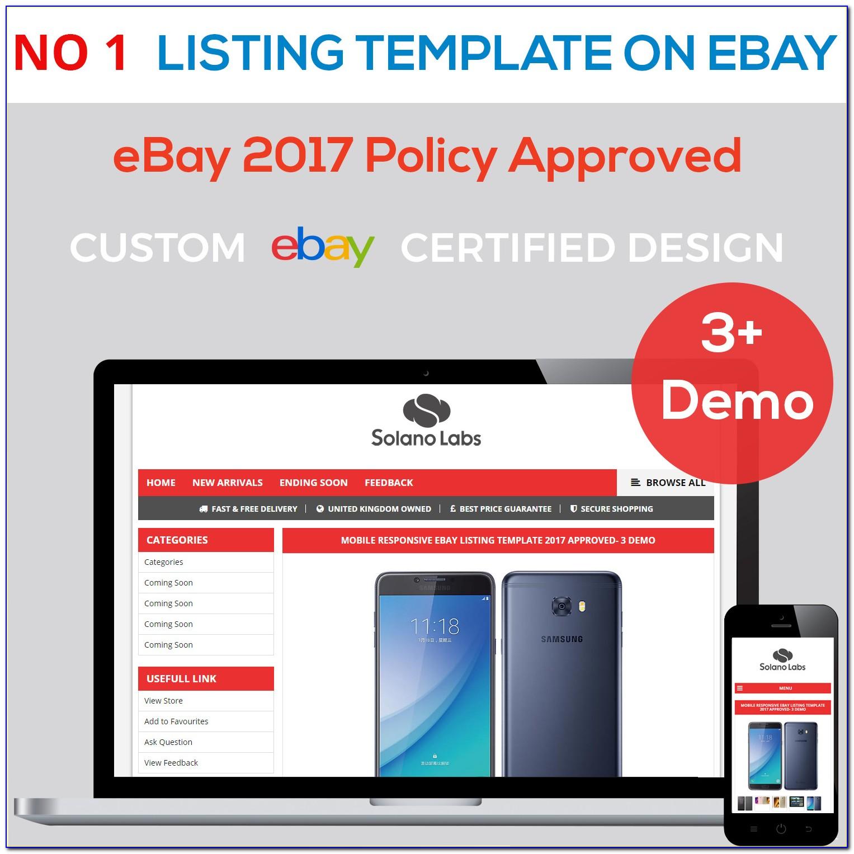 Responsive Ebay Templates