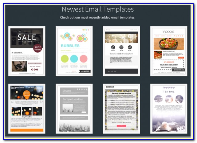 Responsive Email Templates Mailchimp
