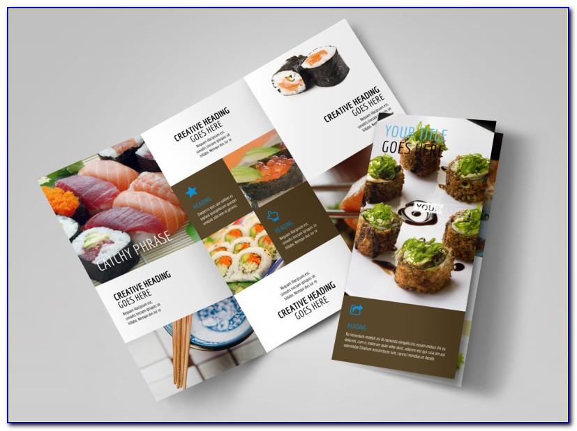 Restaurant Brochure Templates Free