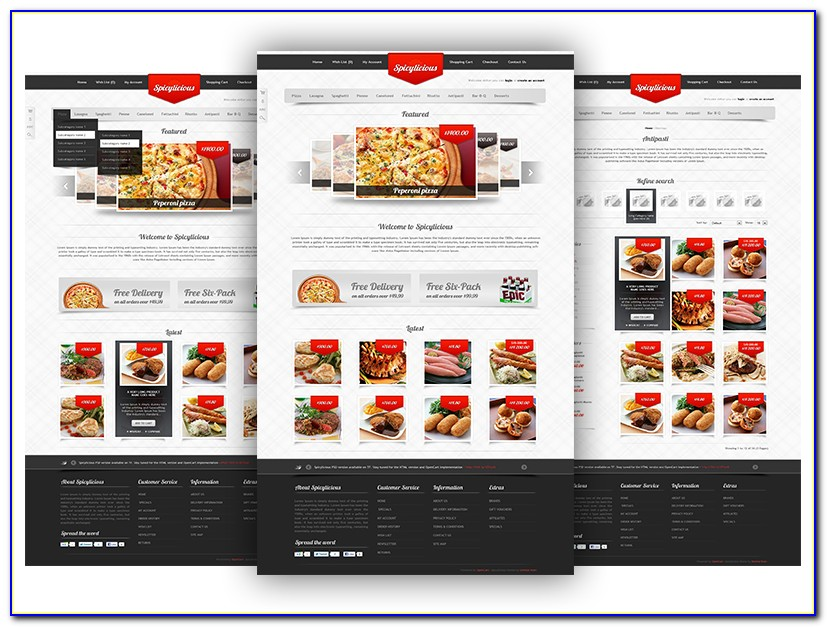 Restaurant Website Templates Free Download Bootstrap