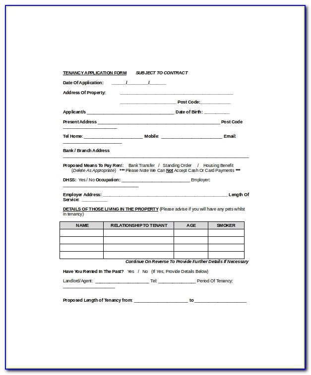 S42 Lease Extension Template