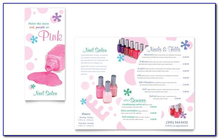 Salon Brochure Format