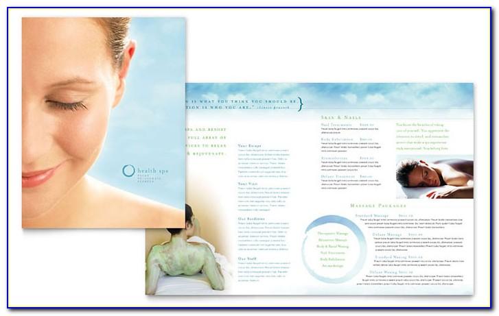 Salon Brochure Template Free