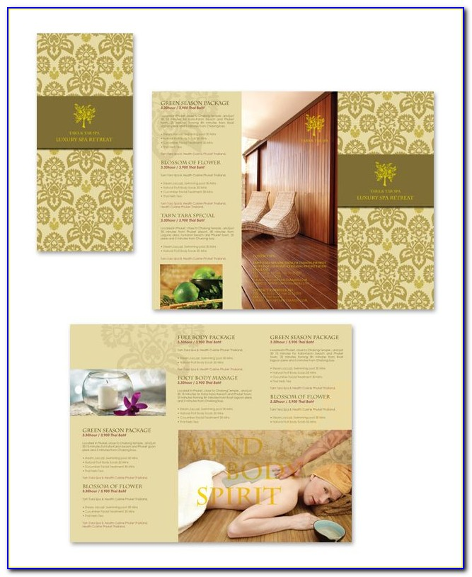 Salon Brochure Template