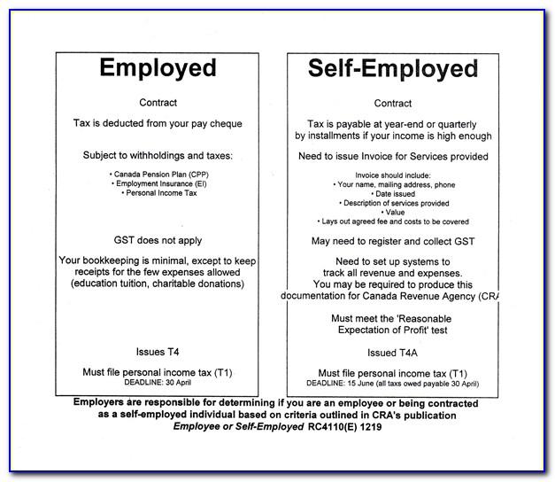 Self Employed Contract Template Uk