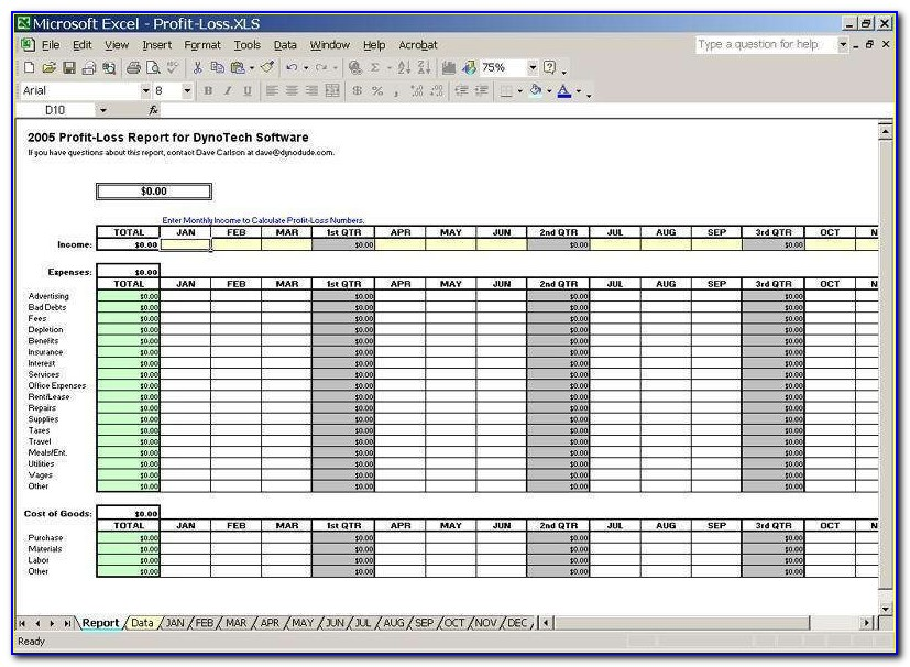 Small Business Expense Sheet Templates