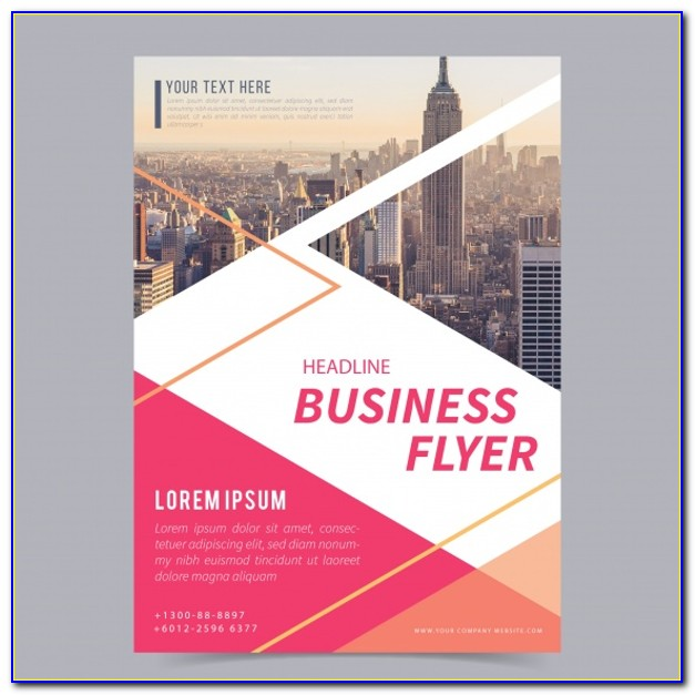 Small Business Flyer Templates Free