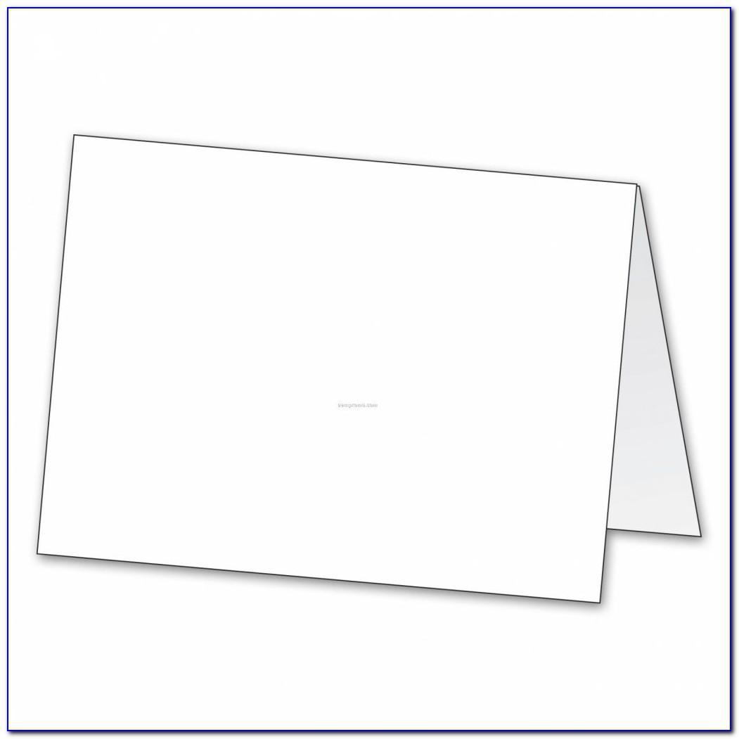Small Tent Card Templates 6 Per Sheet