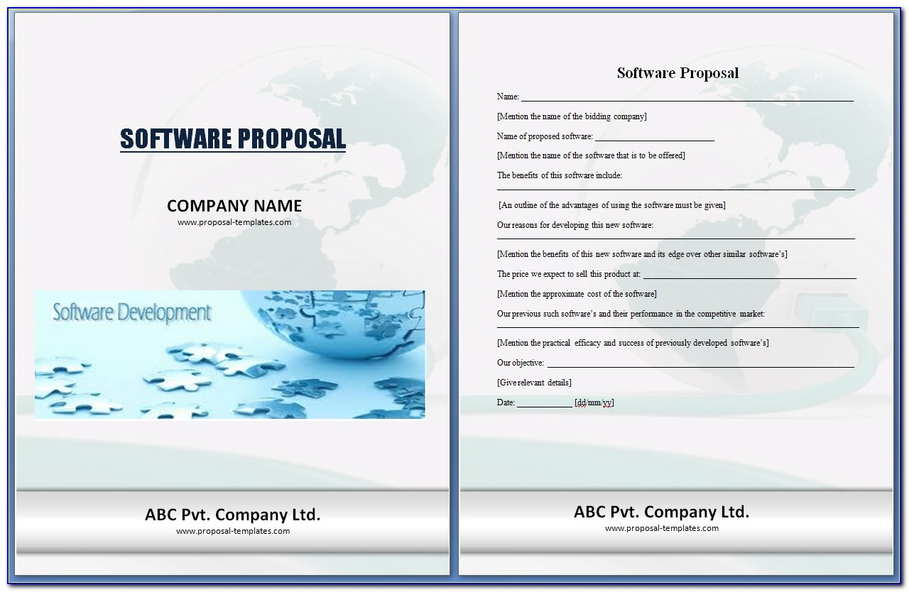 Software Project Proposal Template Doc
