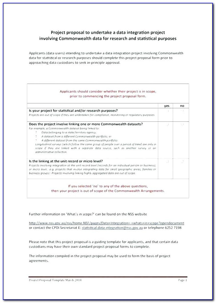 Software Proposal Template Doc