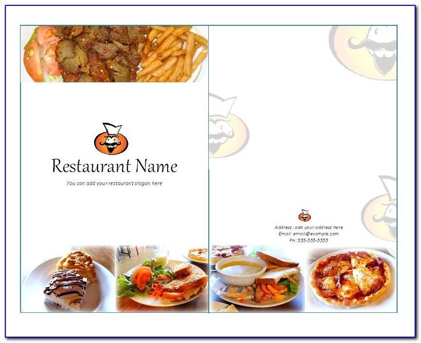 South Indian Restaurant Menu Template