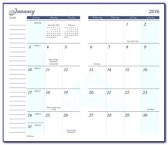 Sports Pocket Schedule Template