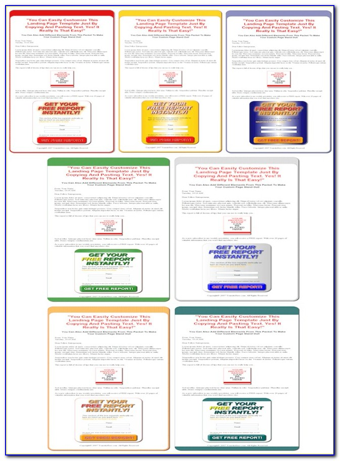 Squeeze Page Templates Wordpress