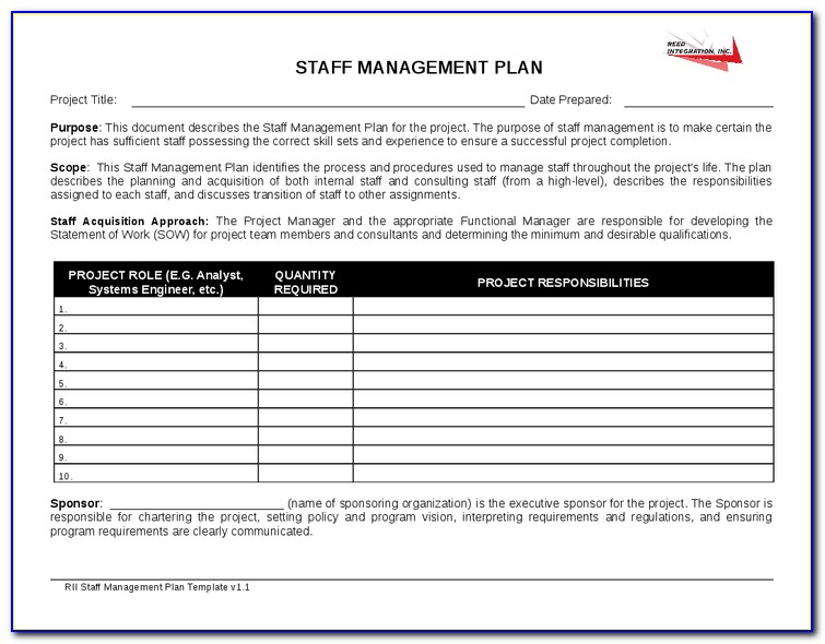 Staffing Agency Proposal Template