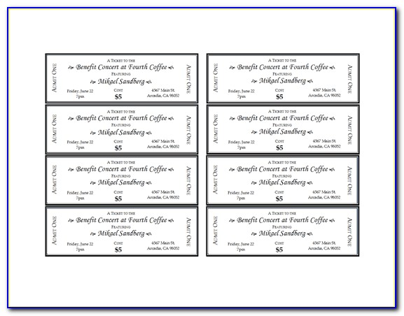 Stag Party Ticket Template Free