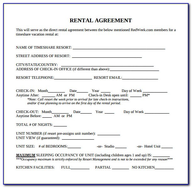 Standard Lease Agreement Form Tasmania