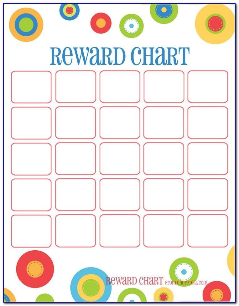 Sticker Reward Chart Ideas