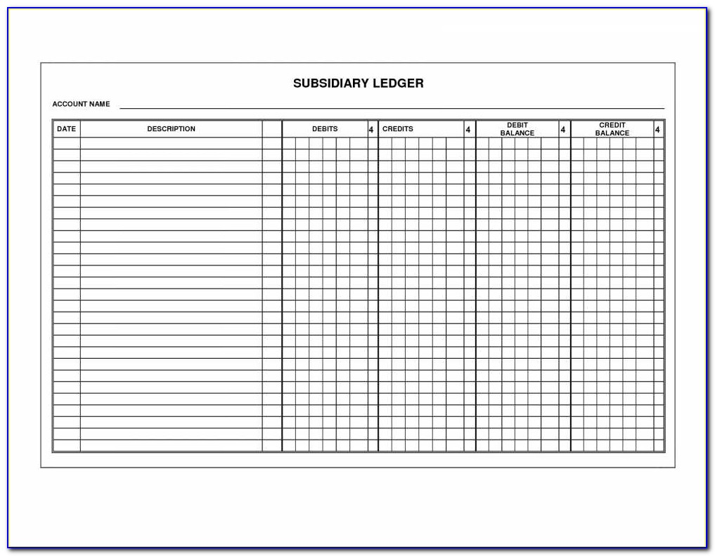 Stock Issuance Transfer Ledger Template
