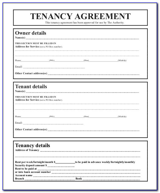 Storage Locker Rental Agreement Template