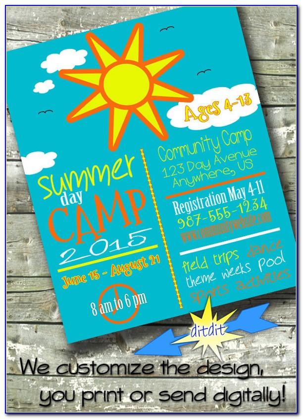 Summer School Flyer Samples