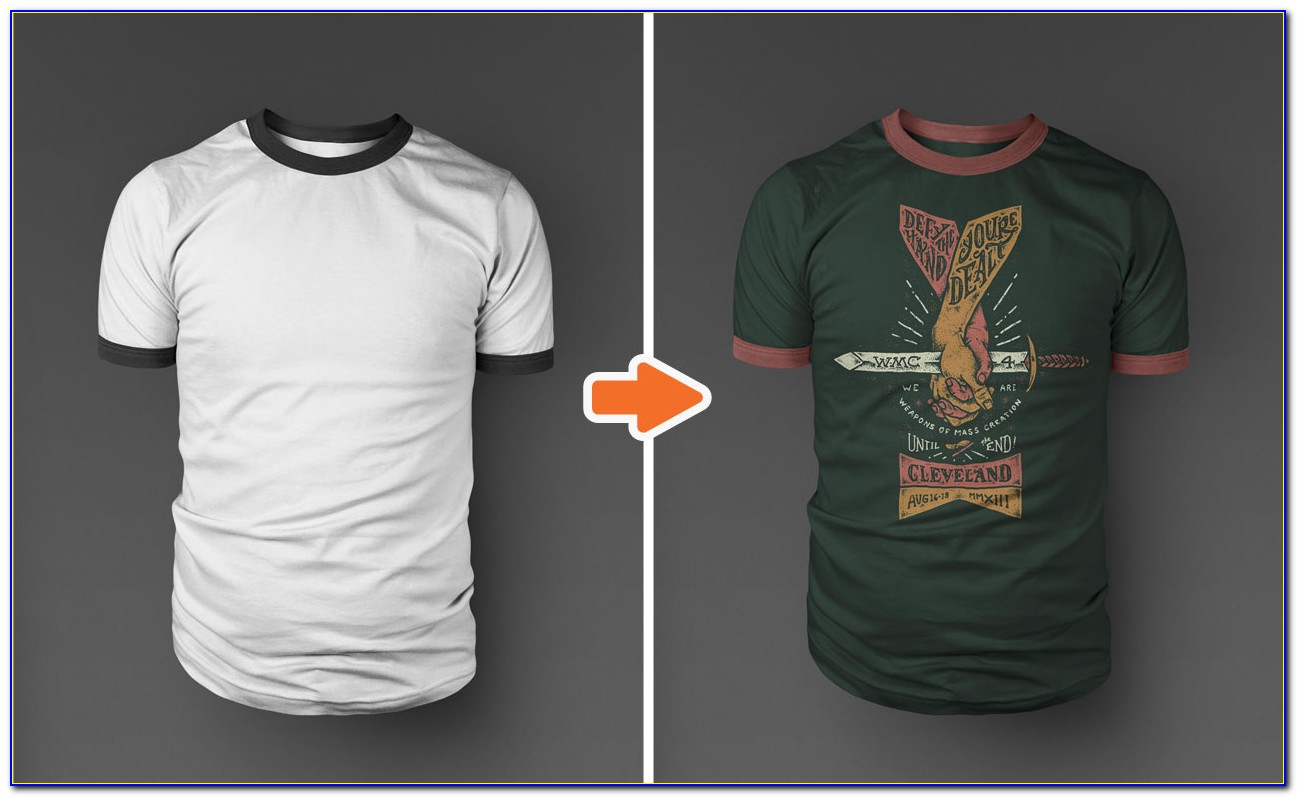T Shirt Templates Design