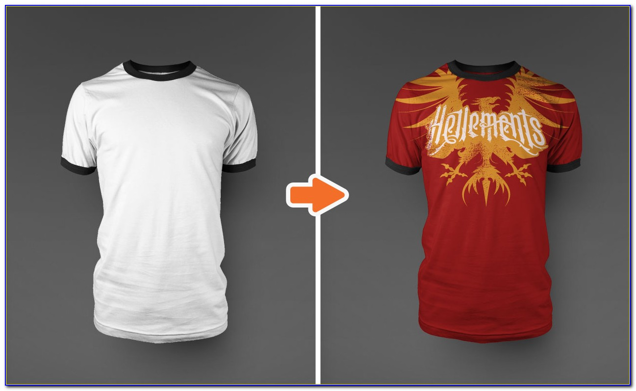 T Shirt Templates Png
