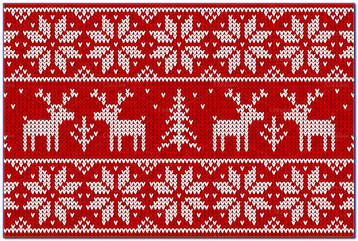 Tacky Christmas Sweater Template