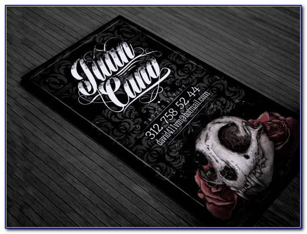 Tattoo Artist Business Card Templates Free