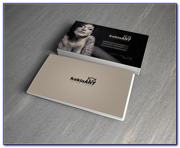 Tattoo Business Card Templates Free Download
