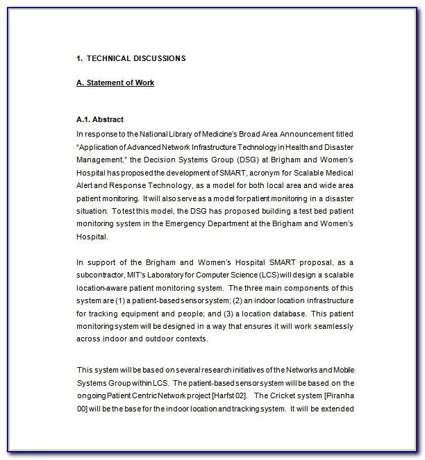 Technical Writing Proposal