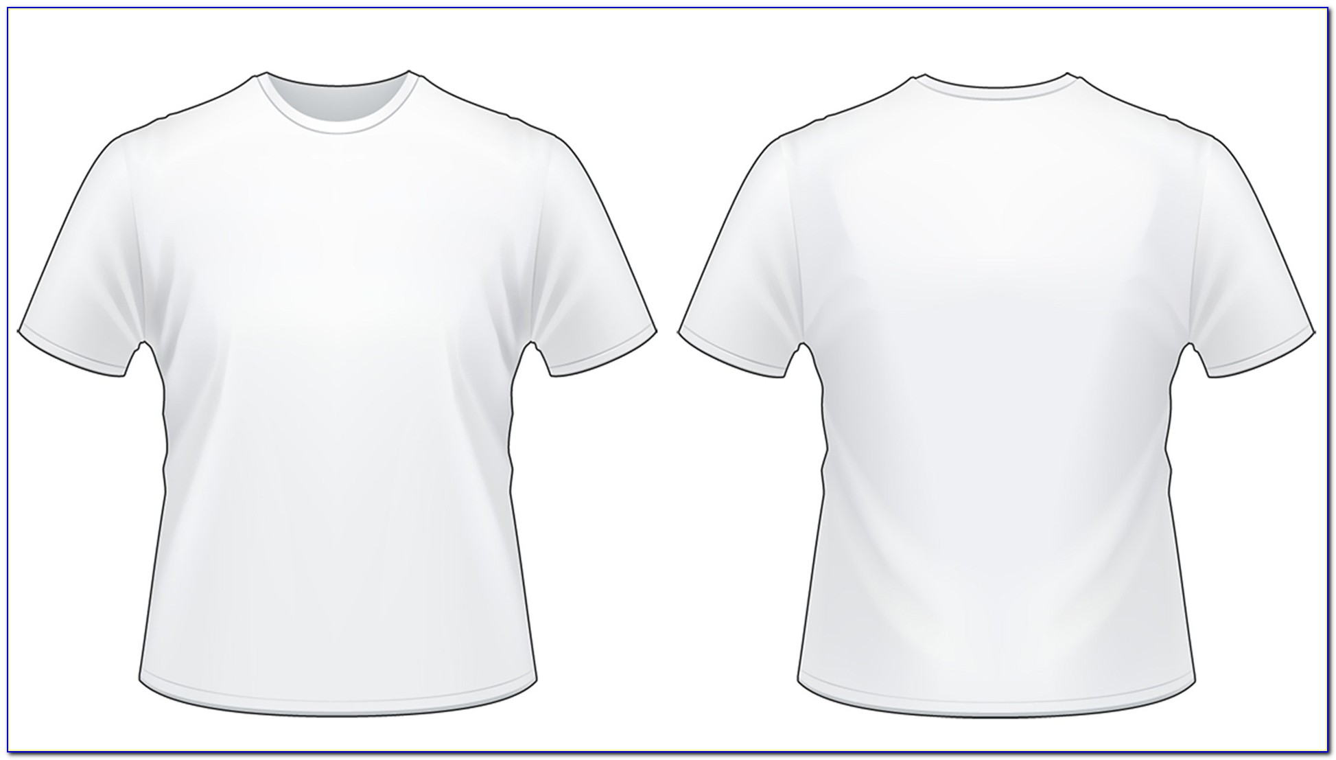 Tee Shirt Templates For Photoshop
