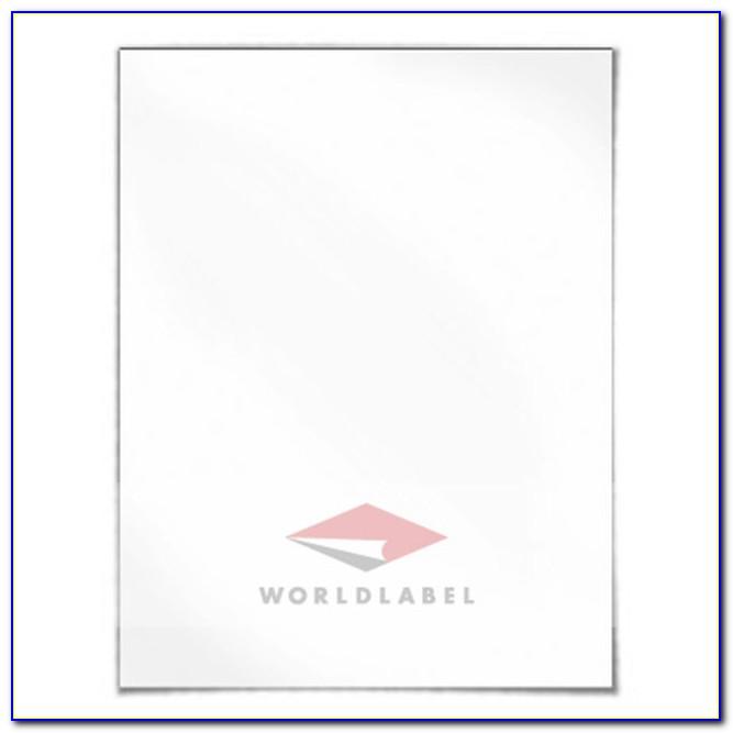 Template Self Adhesive Labels 103