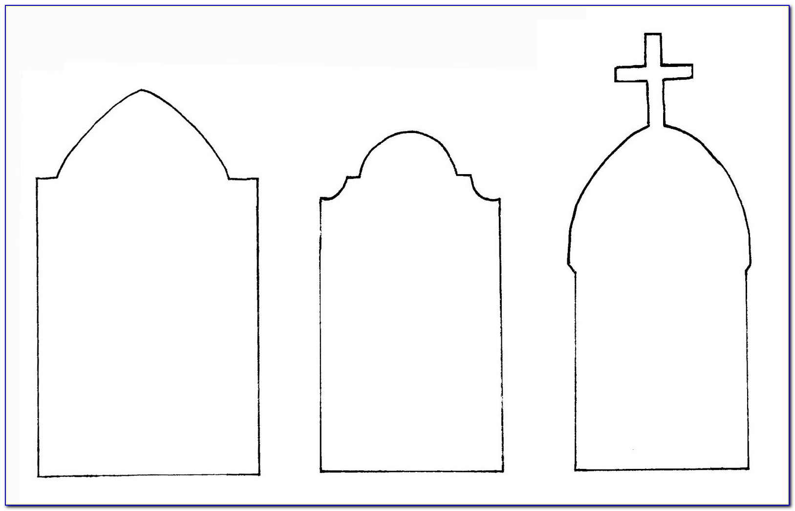 Tombstone Design Templates