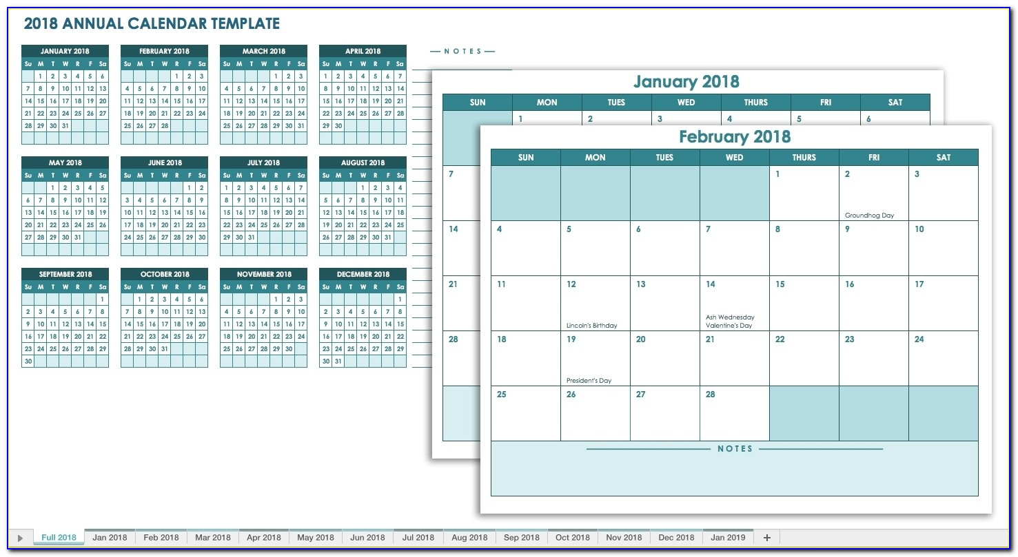 Free Blank Calendar Templates Smartsheet 2019 Employee Vacation Tracking Template