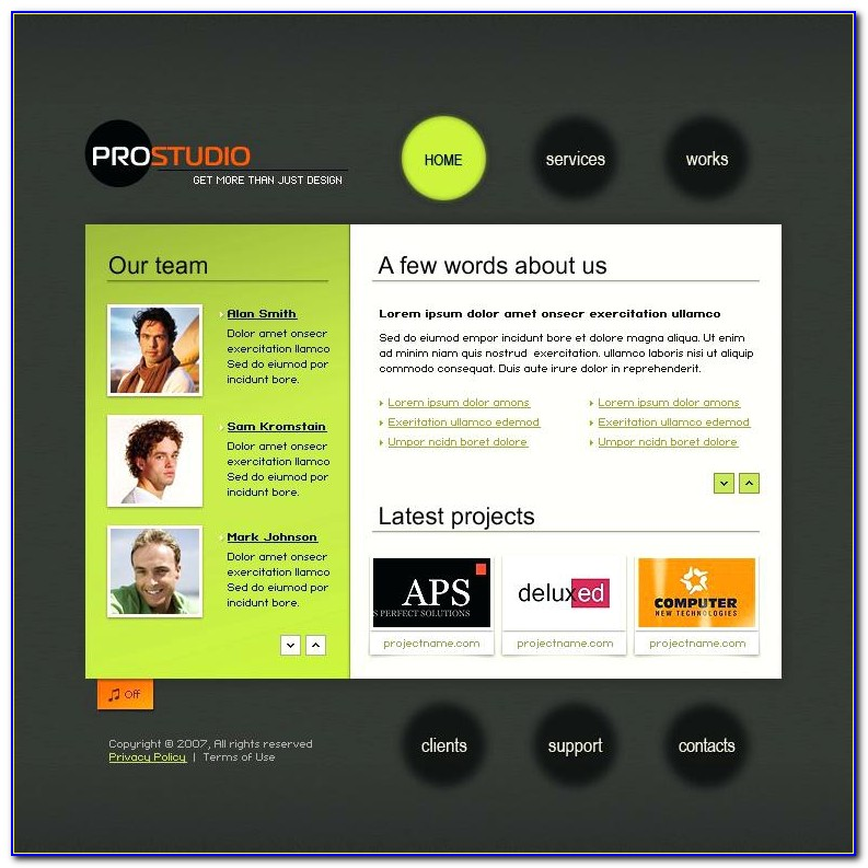 Videography Website Templates