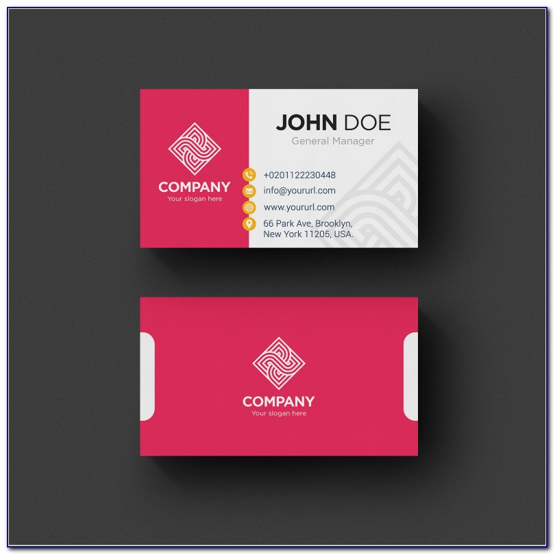 Visiting Card Design Psd Free Download