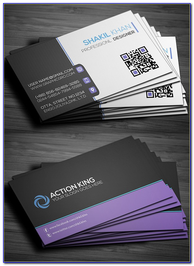 Visiting Card Design Templates Free Download