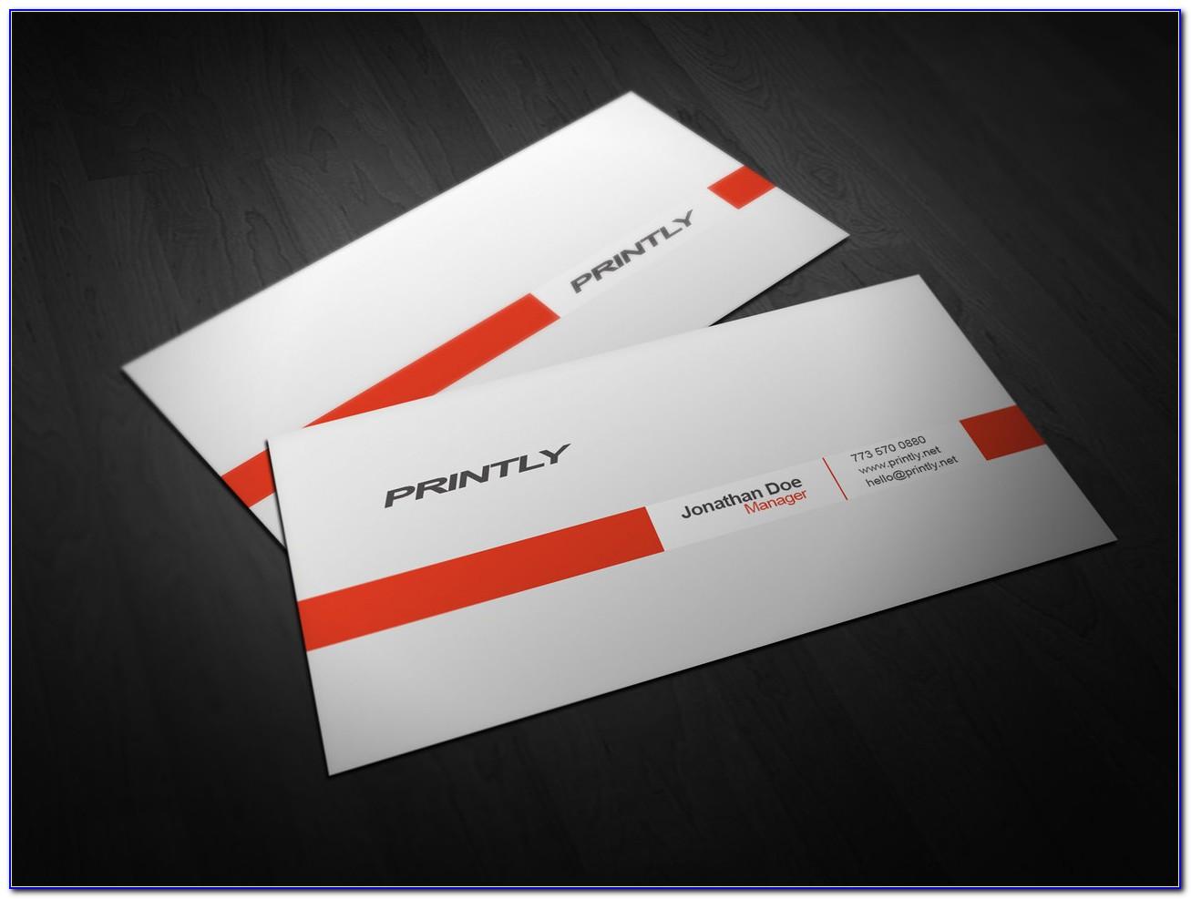 Vistaprint Business Card Template Pdf