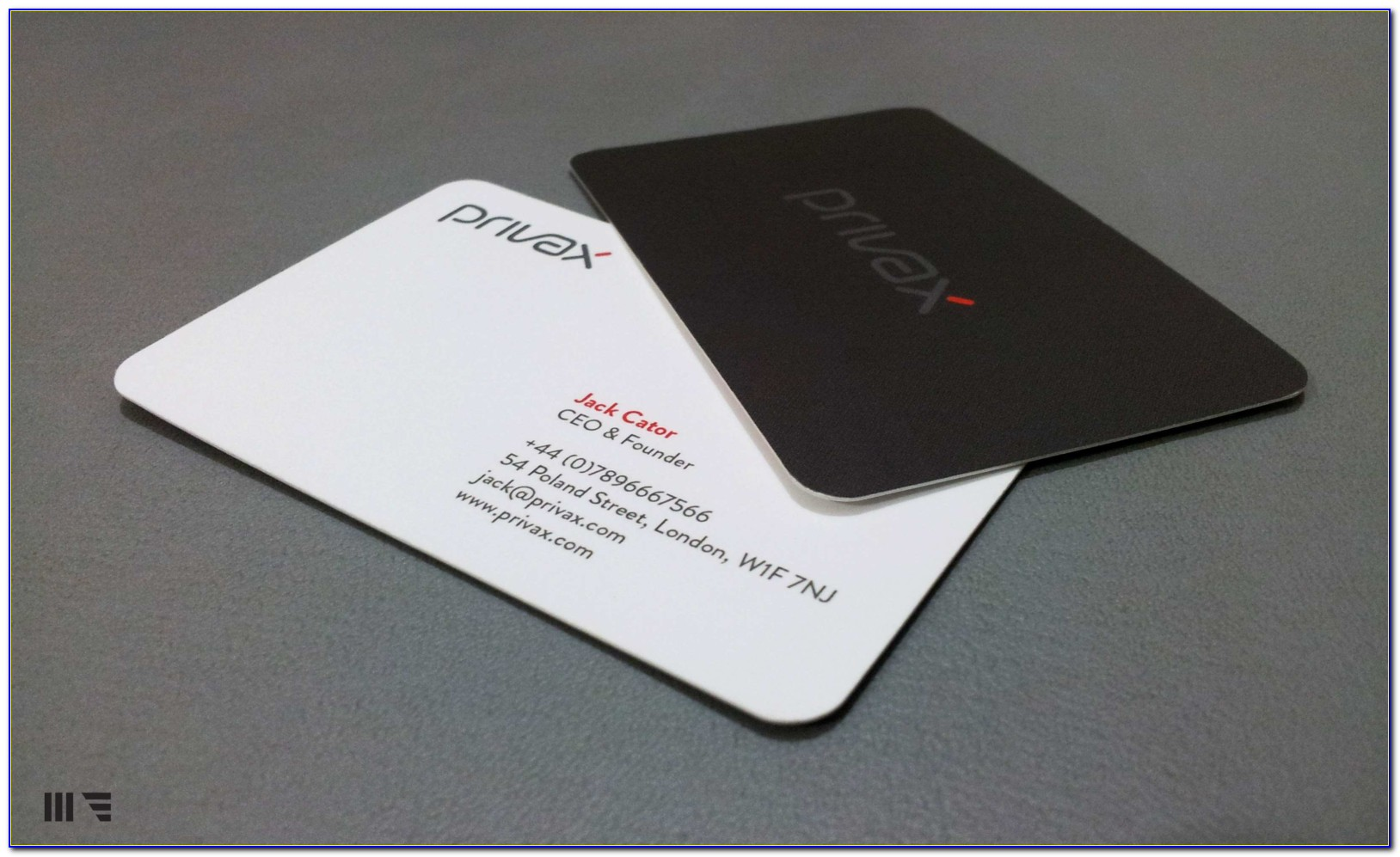 Vistaprint Rounded Corner Business Card Template