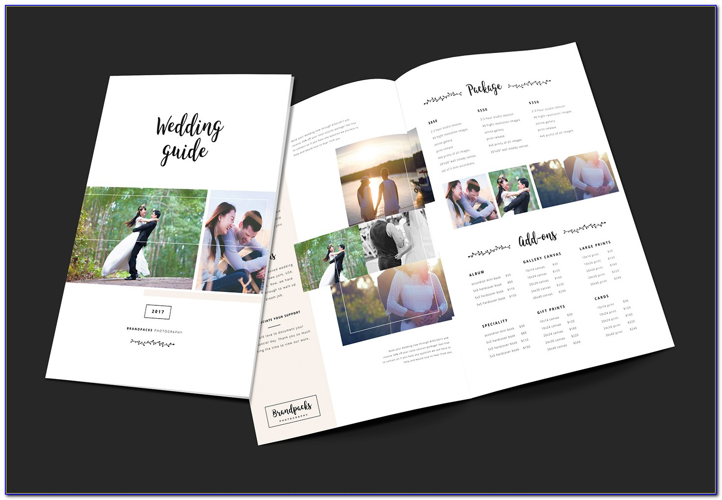 Wedding Ceremony Brochure Templates