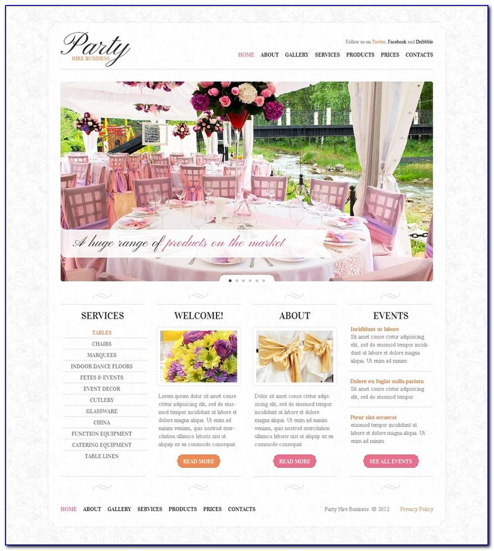 Wedding Planner Template Wordpress Free