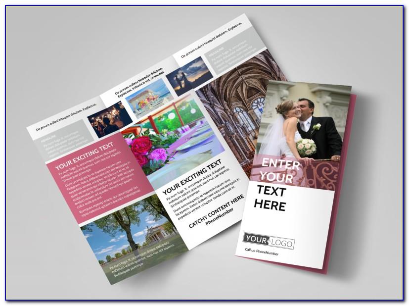 Wedding Venue Brochure Templates