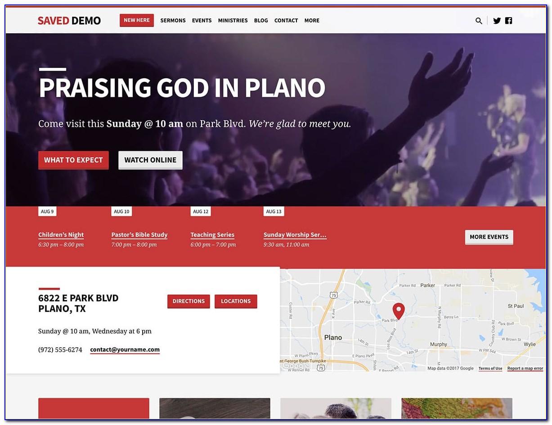 Wordpress Church Template
