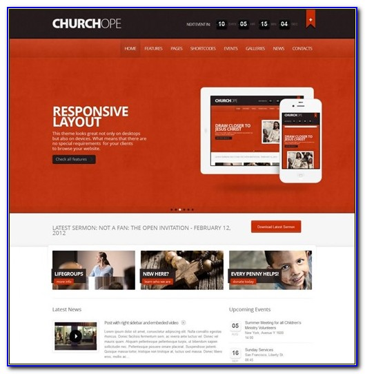 Wordpress Church Themes 2017