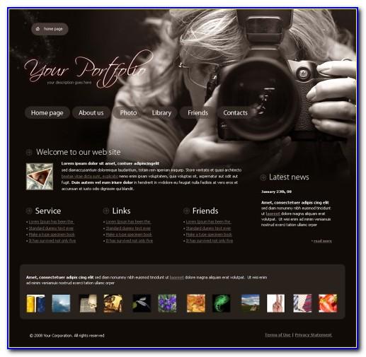 Wordpress Photography Website Templates Free Download